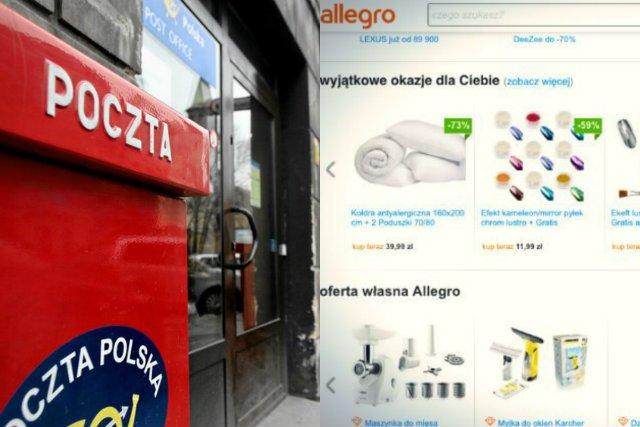 Allegro i Poczta Polska przymierzają się do stworzenia własnej, ogólnopolskiej sieci paczkomatów