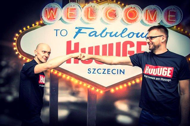 Anton Gauffin (po lewej) stworzył Huuuge Games ponad dekadę temu. W 2007 roku sprzedał swoje udziały i pojechał do Doliny Krzemowej – jednak 7 lat później powrócił do Polski i od tego momentu ponownie steruje firmą.
