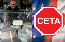 CETA uderza m.in. w rolników, którzy oferują ekologiczną żywność