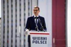 Mateusz Morawiecki przemawiał z okazji Święta Wojska Polskiego.