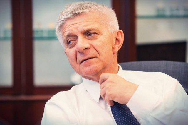 Ustępujący Prezes Narodowego Banku Centralnego Marek Belka.