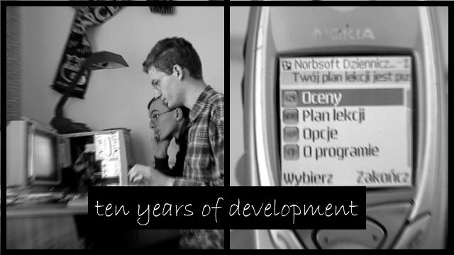 Norbert i Krzysztof i ich pierwsze aplikacje