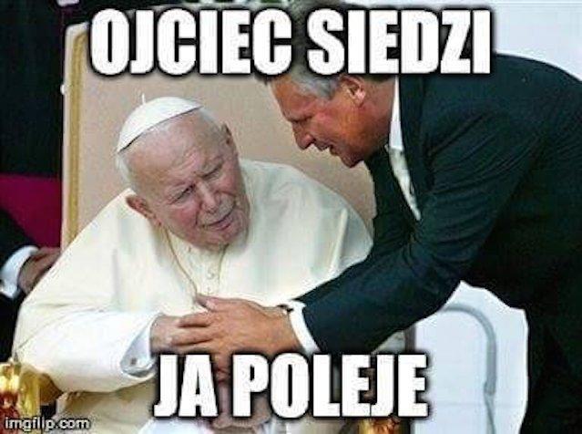 Normikowy mem z Prezydentem Aleksandrem Kwaśniewskim
