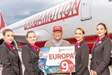 Austriacka linia lotnicza Laudamotion wchodzi do Polski