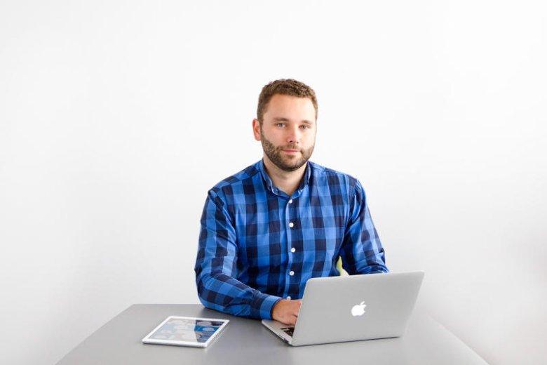 Michał Stachowski wykorzystał rzeczywistość wirtualną do urządzenia mieszkania.