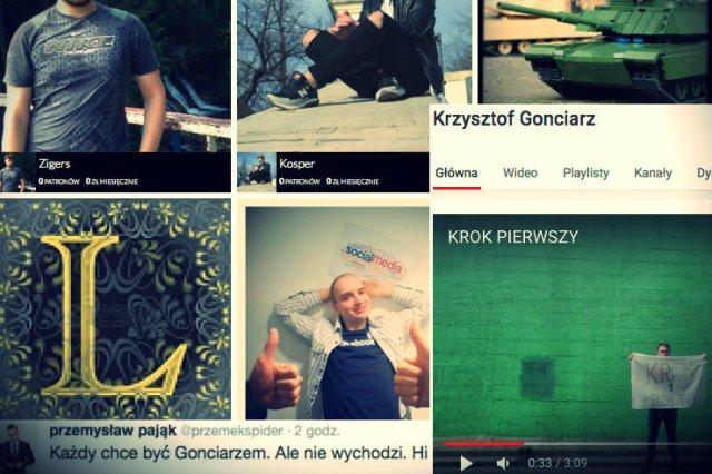 Śmiejąc się z nieudanych zbiórek, zapominamy, że Krzysztof Gonciarz, który zapisał się już w historii polskich zbiórek w internecie – nie wziął się znikąd. Budował swoją pozycję wiele lat, co dziś się odpłaciło