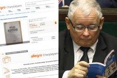 Jarosław Kaczyński przekazał książkę na aukcję  w serwisie Allegro. Dochód z jej sprzedaży ma trafić do Krakowskiego Towarzystwa Opieki nad Zwierzętami.