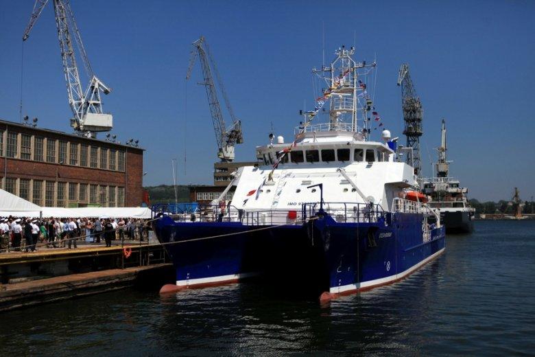 Od końca ubiegłego roku statek jest gotowy do służby.