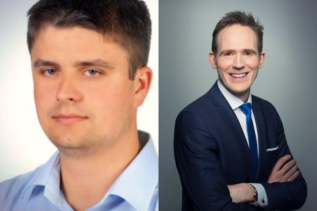 Współzałożyciele BandWarrior - Maciej Kubisty i Tomasz Uściński