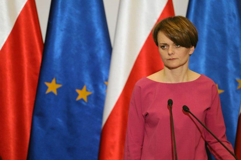 Minister Jadwiga Emilewicz chciała pomóc startupom, projektując przepisy o spółkach akcyjnych w kontekście startupów.