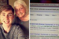 Ben i jego babcia May Answorth. Starsza pani doczekała się odpowiedzi od samego Google.