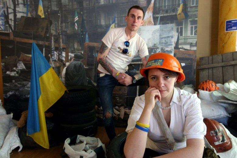 Centrum ukraińskie w dawnej kawiarni Nowy Świat. Dziś nad Wisłą pracuje co najmniej 600-650 tys. Ukraińców.