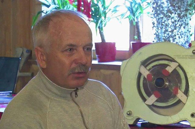 Kazimierz Rzadkosz góral z Gliczarowa Górnego (gm. Biały Dunajec) wynalazca nowego rodzaju silnika