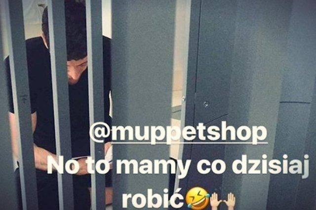 Polski piłkarz łóżko skręcał własnoręcznie