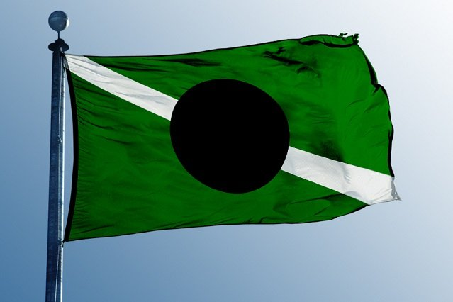 Flaga Kabuto nie załopocze na terytorium RP.