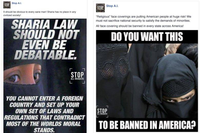 """""""O szariacie nawet nie powinno się debatować"""", """"Chcecie, żeby TO było zabronione w Ameryce?"""" - na antyislamskich nastrojach wiele da się ugrać, również w USA."""