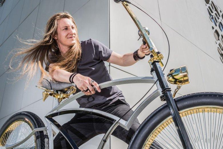 Adam Zdanowicz - mistrz świata w budowaniu rowerów