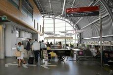 Lotnisko w Modlinie.