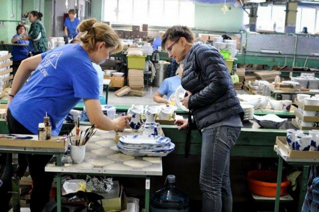 """Przygotowania do realizacji projektu """"People from the Porcelain Factory""""."""