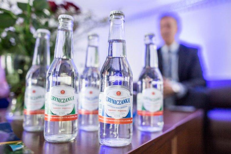 Kryniczanka powinna być królową polskich wód mineralnych - podkreśla prezes Pióro.