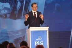 Mateusz Morawiecki podczas konwencji PiS.