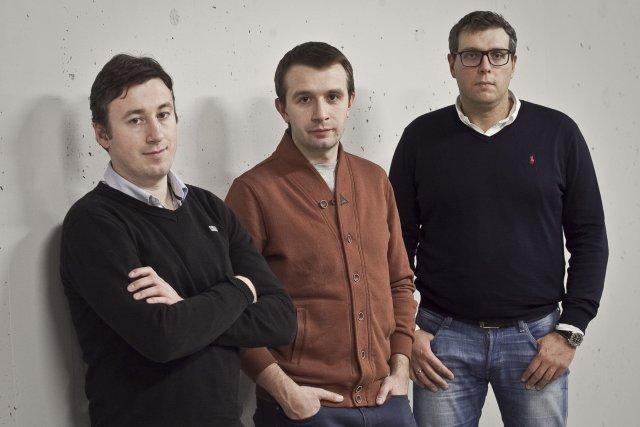Założyciele LegalUp pracują obecnie w dużych kancelariach i firmach ubezpieczeniowych. Od lewej: Ryszard Manteuffel, Rafał Rzeszotarski i Artur Kubiak.