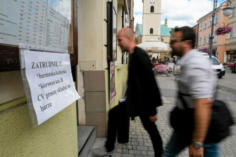 Problemy ze znalezieniem pracowników mają nie tylko warszawscy restauratorzy. Na zdjęciu jeden z lokalów w Rzeszowie.