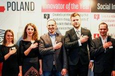 Część wyróżnionych osób w pierwszej polskiej edycji Innovators Under 35.