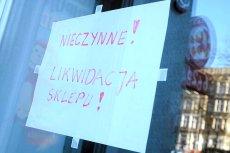 Bankructwo firmy. W Polsce szybko przybywa bankrutujących firm. W drugiej połowie roku będzie jeszcze gorzej.