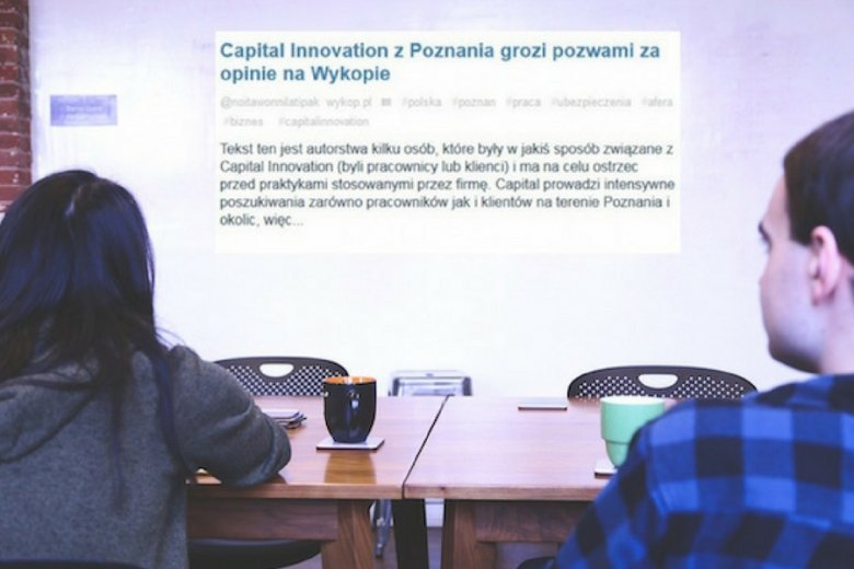Pracownicy poznańskiej spółki Capital Innovation czują się wykorzystani przez firmę.