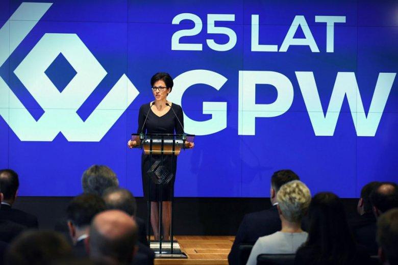 Małgorzata Zaleska, obecna szefowa GPW.