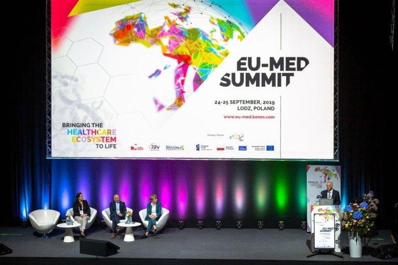 Na konferencji EU-MED SUMMIT w Łodzi po raz pierwszy zebrali się w Polsce przedstawiciele branży life science