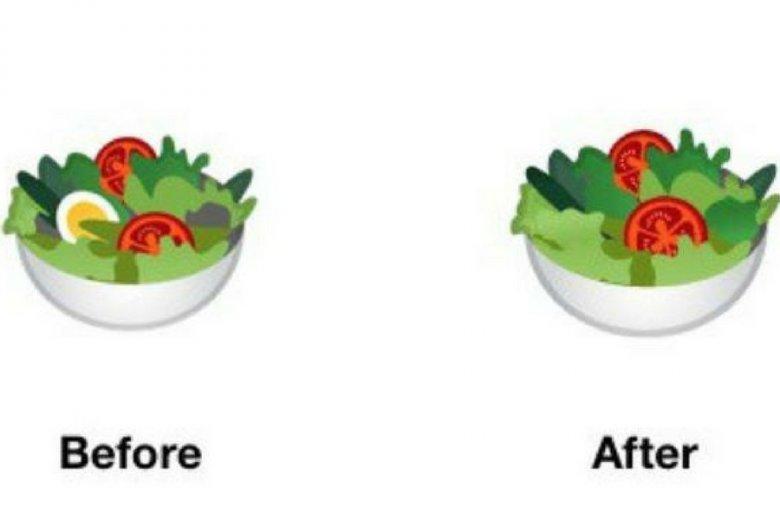 Zmodyfikowana ikona sałatki.