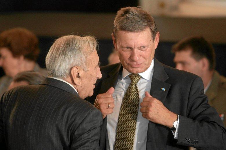 Najpotężniejszy minister finansów III RP. Tadeusz Mazowiecki i Leszek Balcerowicz.