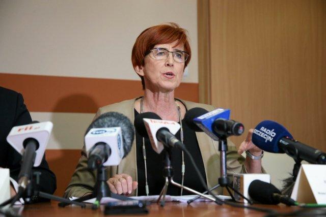 Minister rodziny, pracy i polityki społecznej Elżbieta Rafalska.