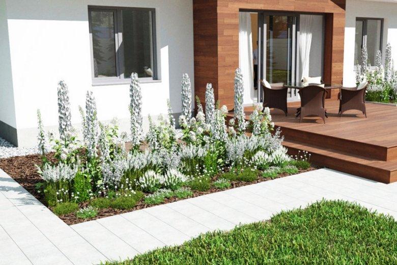 Ogród biały.