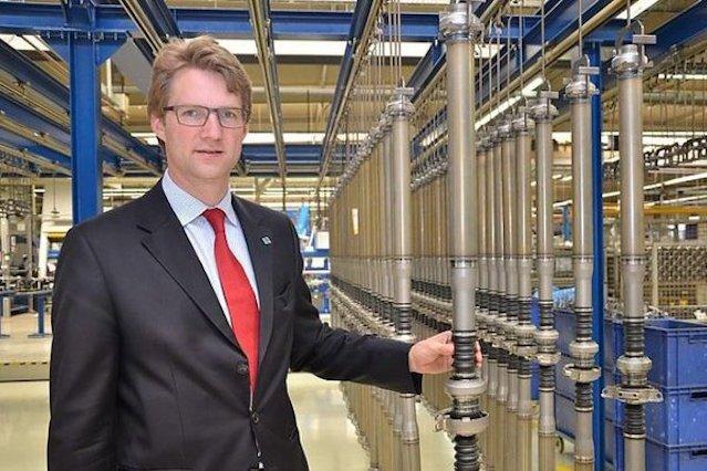 Felix von Nathusius, prezes IFA.