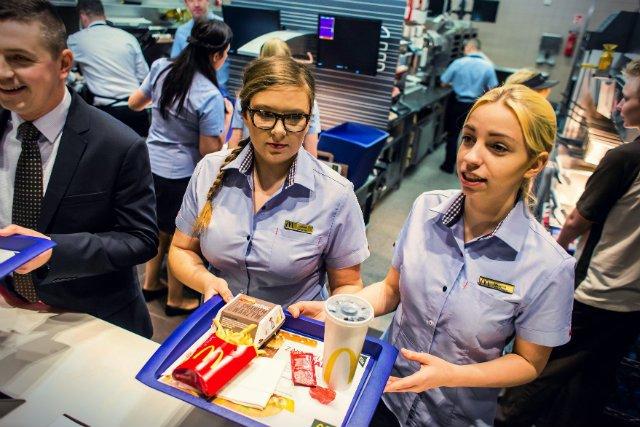 Jedna z krakowskich restauracji McDonald's