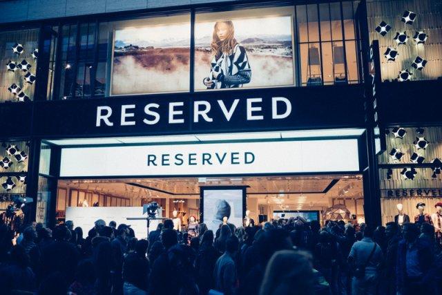 LPP będzie sprzedawać swoje ubrania w Londynie pod marką Reserved.
