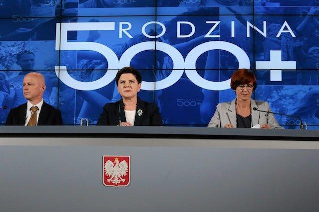 Według GUS-u wprowadzenie programu 500+ przyczyniło się do zmniejszenia liczby Polaków korzystających z pomocy społecznej