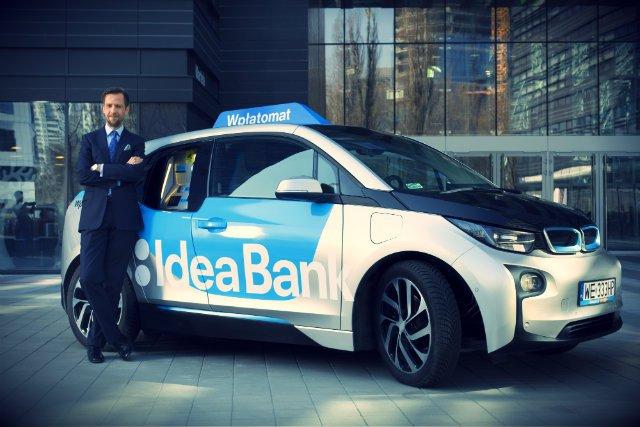 Dominik Fajbusiewicz, członek zarządu Idea Bank i pomysłodawca projektów takich jak mobilny wpłatomat czy Happy Miles.