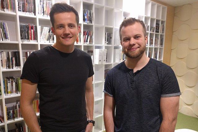 Piotr Nowosielski (z lewej) i Tomasz Gański ( z prawej).