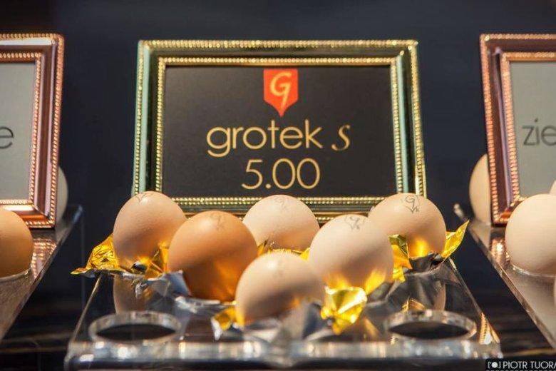 Jaja Grotke S są po 5 złotych.
