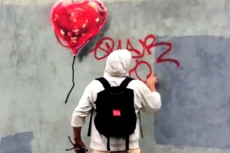 Banksy rozdaje swoje dzieła za darmo