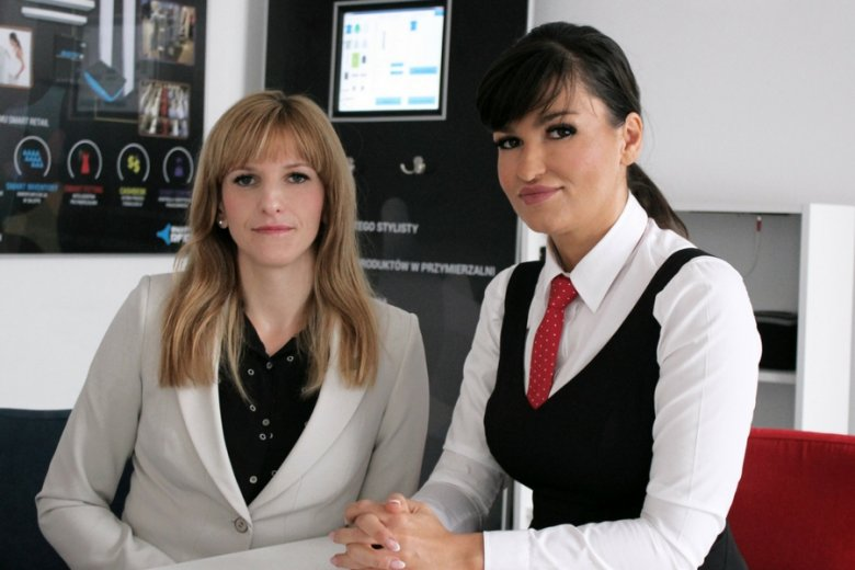 Monika Bańdura i Karolina Kozłowska.