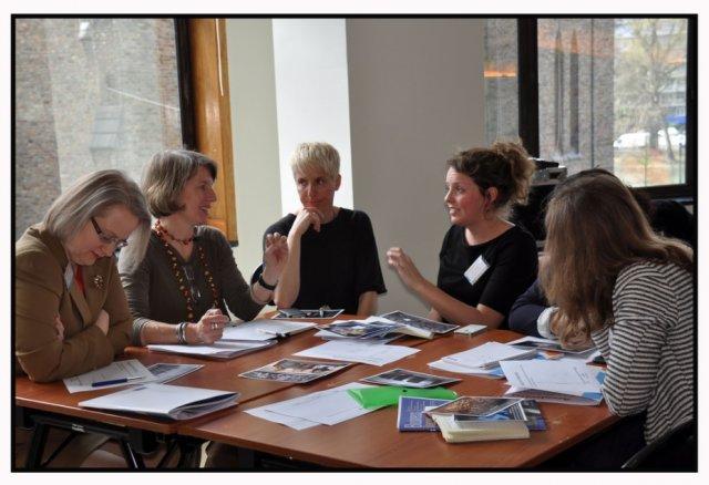 "Uczestniczki konferencji ""Women In Media"", 8 kwietnia 2016 r., Bruksela"