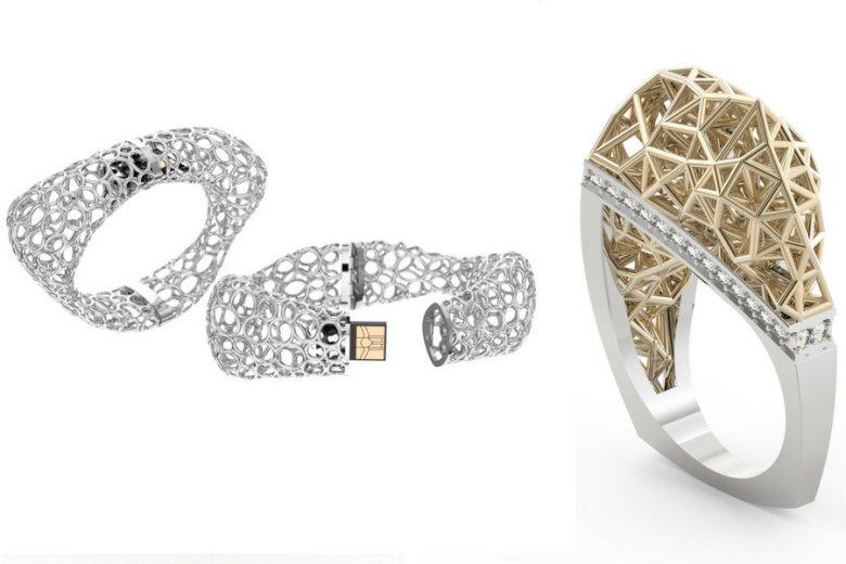 Pomysły Novvak Jewellery to m.in. bransoleta z ukrytym pendrivem czy pierścionek parametryczny.