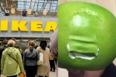 Klienci Ikei podczas otwarcia sklepu w Lublinie popełnili pewien błąd z jabłkami