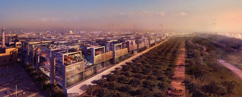 Pierwsze plany miasta Masdar pojawiły się już w 2008 roku.