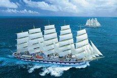 Royal Clipper to luksusowy żaglowiec, największy, jaki zbudowano na świecie. Niedługo prześcignie go inny statek, zaprojektowany przez Zygmunta Chorenia